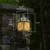 Stonehaven™ Lantern 14 in. Exterior Wall Light