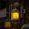 Stonehaven Lantern™ 12 in. Patio Wall Light