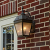 Georgian™ Lantern 9 in. Patio Wall Light