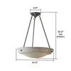 Hampton™ 24 in. Bedroom Alabaster Pendant Lights