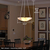 Hampton™ 24 in. Interior Alabaster Pendant Light