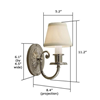 Provence™ Braided Rope Border Sconce