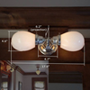 Ballantrae™ Two Light Traditional Wall Sconce