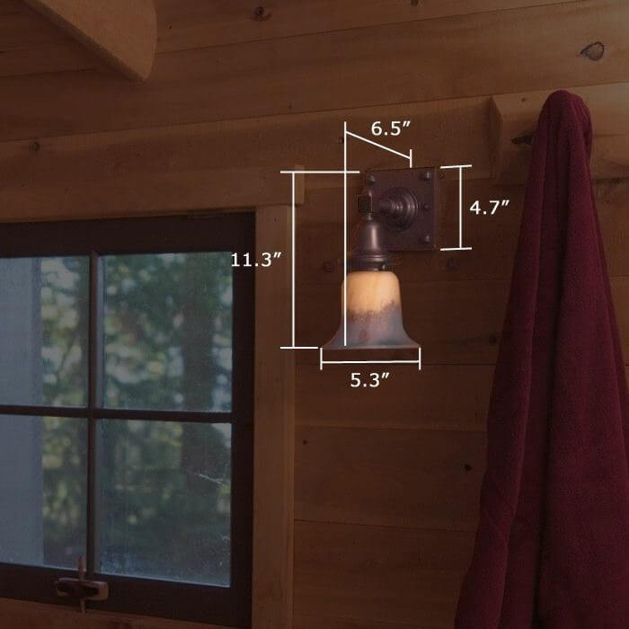 Durham™ One Light Rustic Sconce