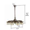 Stamford™ Eight Light Dining Room Chandelier