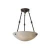 Empire™ 19 in. Traditional Alabaster Pendant Light