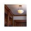 Tuscany™ 12 in. Traditional Alabaster Pendant Light