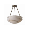 Tuscany™ 16 in. Traditional Alabaster Pendant Light