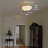 Tuscany™ 16 in. Alabaster Ceiling Pendant