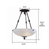 Tuscany™ 19 in. Conference Room Pendant Light