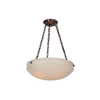 Tuscany™ 19 in. Traditional Alabaster Pendant Light