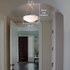 Palladian™ 16 in. Traditional Alabaster Pendant