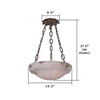 Palladian™ 19 in. Conference Room Pendant Light