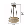 Pantheon™ 16 in. Lobby Pendant Light