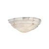 Hampton™ 14 in. Alabaster Wall Sconce