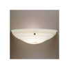 Hampton™ 18 in. Wide Ball Finials Alabaster Wall Sconce