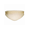 Greek Key™ 12 in. Modern Handcarved Alabaster Wall Sconce