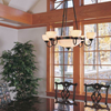 Tuscany with Band™ Traditional Alabaster Chandelier
