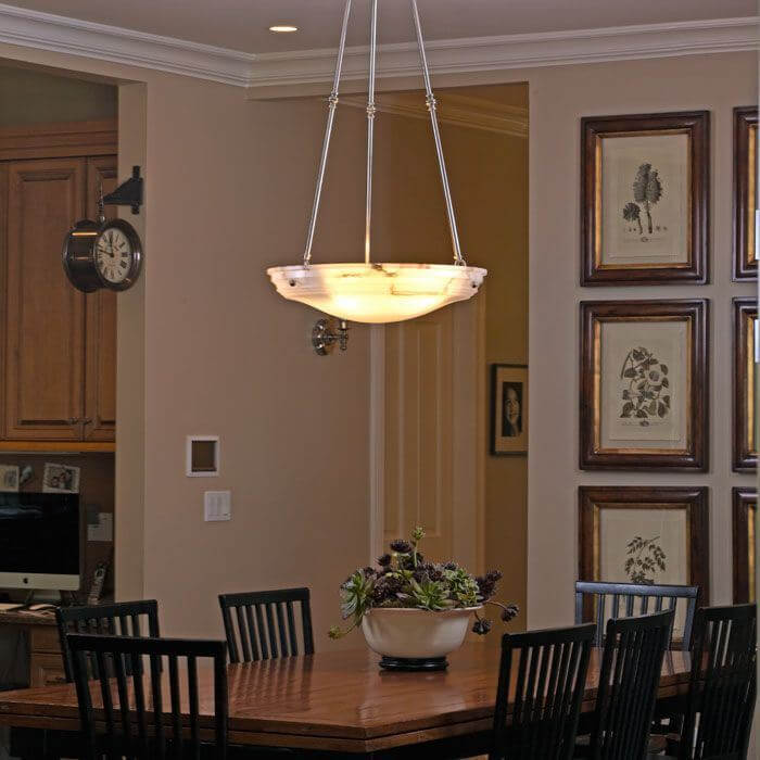 Hampton™ 24 in. Diam Multi-Stem Alabaster Pendant