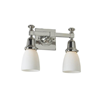 Morris™ Two Light Straight Arm Hallway Wall Sconce