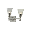 Morris™ Two Light Straight Arm Foyer Wall Sconce