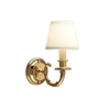 Carlton™ One Light Curved Arm Wall Sconce