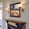 Carlton™ One Light Torch Lobby Wall Sconce