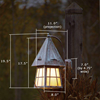 European Country™ Lantern 8 in.