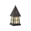 European Country Lantern™ 8 in. Tudor Style Pier Light