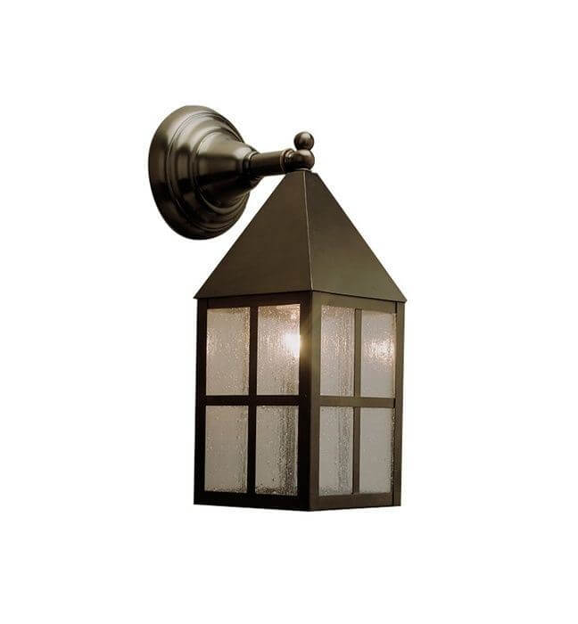 Carriage Lantern™ 6 in. Wide Straight Arm Exterior Wall Light