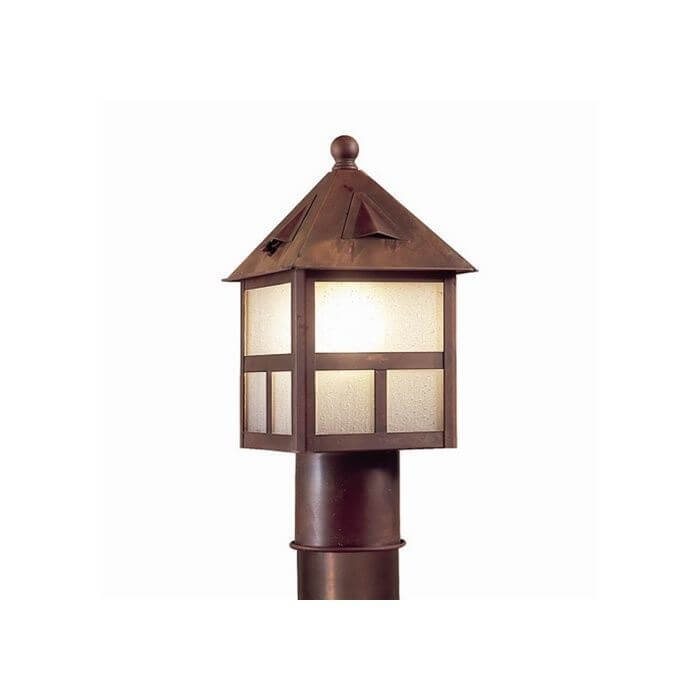 Cottage Lantern™ 6 in. Wide Exterior Post Light Line Voltage
