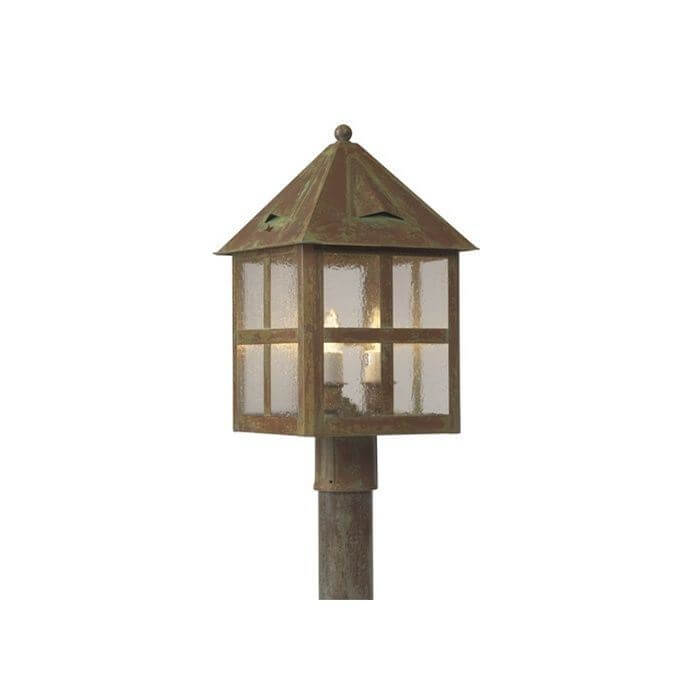 Cottage Lantern™ 12 in. Wide Exterior Post Light