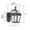 London Lantern™ 7 in. Traditional Wall Light