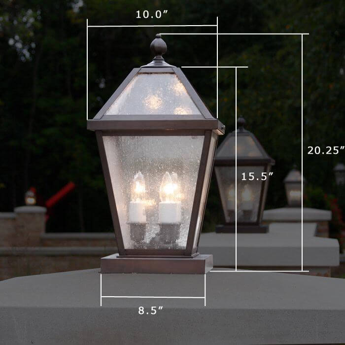 London™ Lantern 10 in. Wide Exterior Pier Light