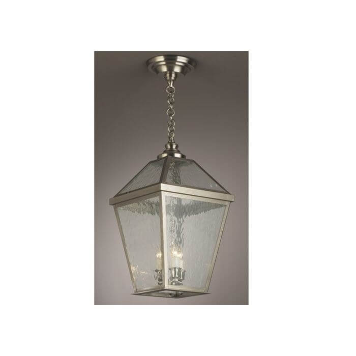 London Lantern™ 14 in. Wide Chain Hung Exterior Pendant Light