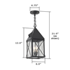Lancaster Lantern™ 6 in. Multi-Socket Cluster Pendant Light