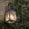 Lancaster™ Lantern 6 in. 60 Watt Wall Light