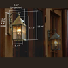 Lancaster™ Lantern 6 in. Wall Light Fixture
