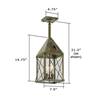 Lancaster™ Lantern 7 in. Exterior Pendant Light