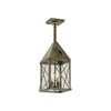 Lancaster™ Lantern 7 in. Shaded Pendant Light