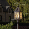 Lancaster™ Lantern 7 in. Tudor Post Light