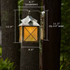 Stonehaven™ Lantern 8 in. Rustic Outdoor Lantern Sconce
