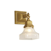 Oak Park™ One Light Chain Link Foyer Wall Sconce with 2-1/4 in. shade holder