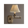 Highland Park One Light Swing Arm Bedroom Sconce with electric candle