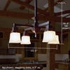 Oak Park™ four light dining room chandelier