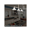 Oak Park™ Three Light Chandelier with 2-1/4 in. shadeholders