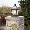 London™ Lantern 10 in. Wide Exterior Gate Pillar Light