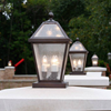 London™ Lantern 10 in. Wide Exterior Driveway Pier Light