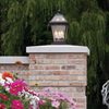 London™ Lantern 10 in. Wide Exterior Hotel Post Lights