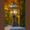 London™ Lantern 10 in. Wide Scrolled Exterior Traditional Lighting